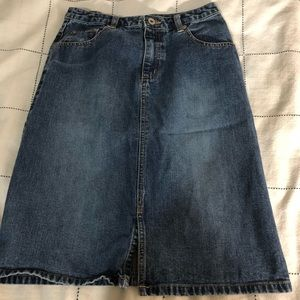 Old Navy Girls Denim Skirt